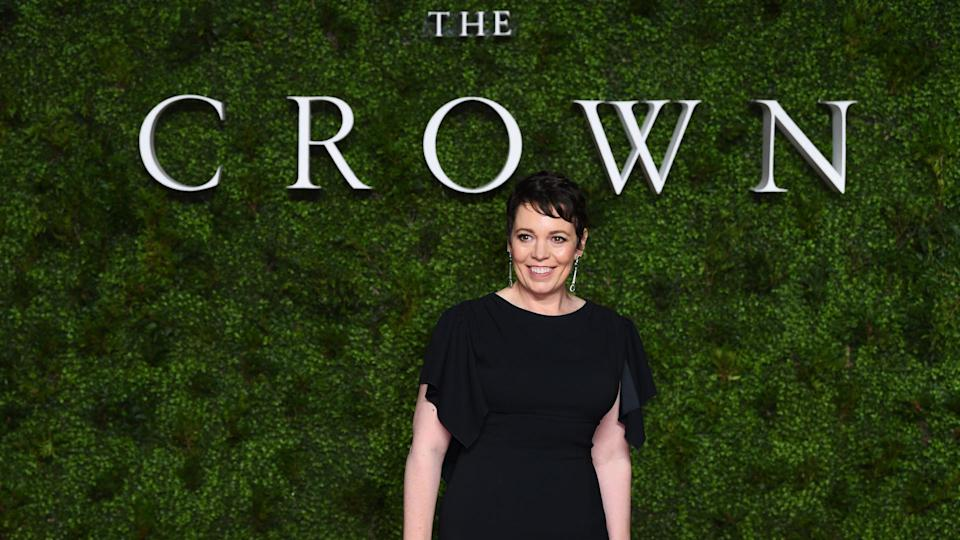 """<p><span>""""The Crown"""" crushes all other Netflix series with 24 Primetime Emmy nominations in 2021 — that's six more than the next-closest Netflix competitor, """"The Queen's Gambit."""" At the top of the cast is Olivia Colman, who plays Queen Elizabeth II. Her role earned her yet another Emmy nod in 2021 — and her talent has earned her a net worth of $6 million. </span></p> <p><span>In 2019, Harper's Bazaar reported on a scandal involving gender-based pay equity. It was revealed that Claire Foy, who played the queen in the first two seasons, was paid less than a lower-profile male cast member. Netflix corrected its course and Colman is now the highest-paid cast member, according to the report. """"The Crown"""" has earned 63 combined Emmy awards and nominations since its start.</span></p> <p><em><strong>See: </strong></em><em><strong><a href=""""https://www.gobankingrates.com/net-worth/celebrities/richest-child-stars-all-time-now/?utm_campaign=1110520&utm_source=yahoo.com&utm_content=8&utm_medium=rss"""" rel=""""nofollow noopener"""" target=""""_blank"""" data-ylk=""""slk:45 Richest Child Stars of All Time"""" class=""""link rapid-noclick-resp"""">45 Richest Child Stars of All Time</a></strong></em></p> <p><small>Image Credits: David Fisher/Shutterstock</small></p>"""