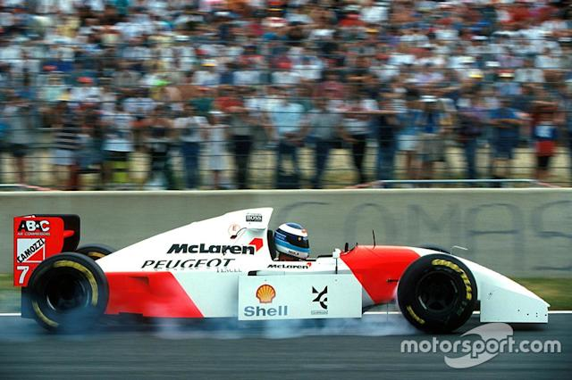 "1994: McLaren-Peugeot MP4/9 <span class=""copyright"">Sutton Motorsport Images</span>"