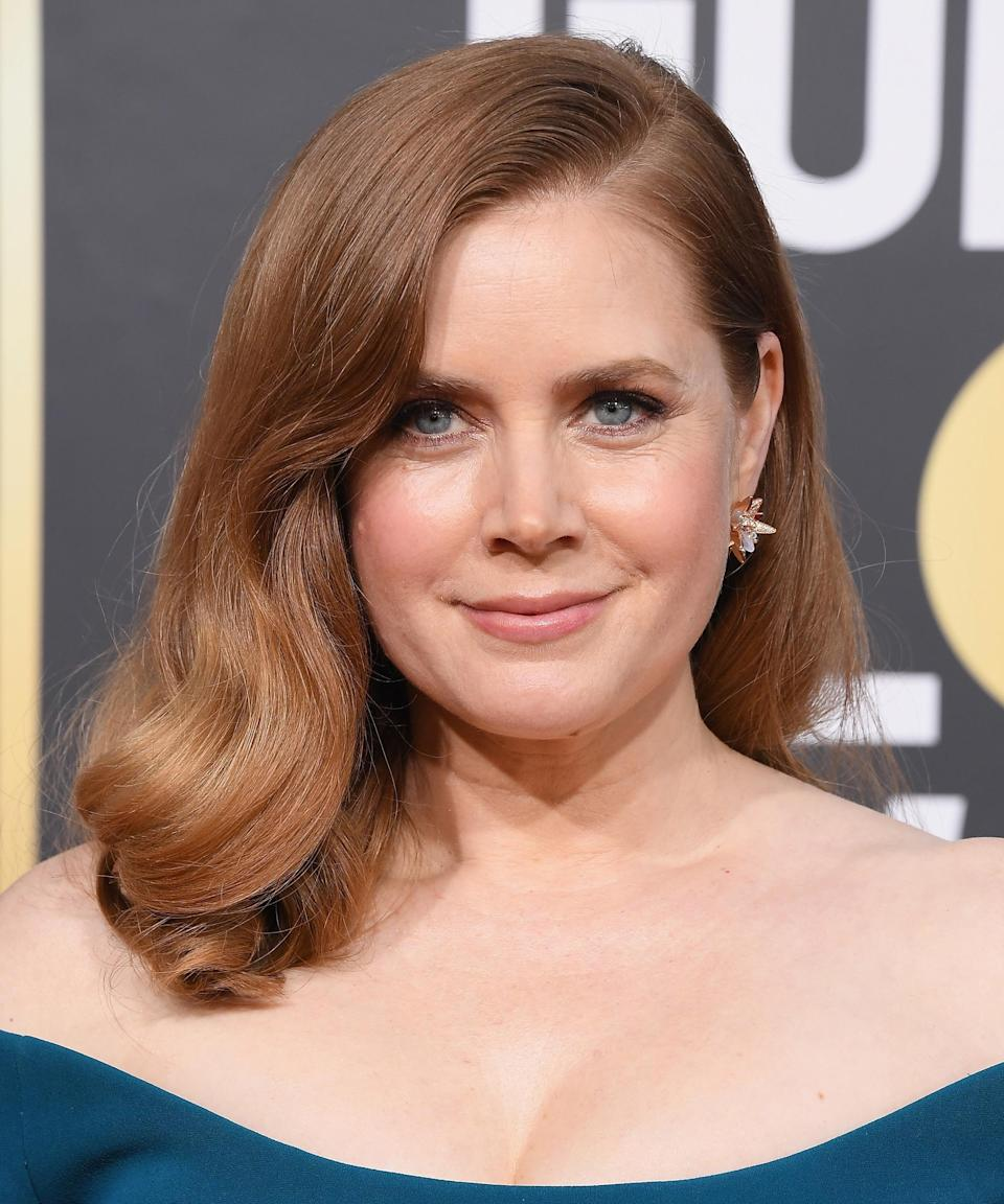 """<strong><h2>Amy Adams</h2></strong>For her part, <a href=""""https://www.refinery29.com/en-us/2016/11/129416/amy-adams-red-hair-color"""" rel=""""nofollow noopener"""" target=""""_blank"""" data-ylk=""""slk:Adams is a natural blonde,"""" class=""""link rapid-noclick-resp"""">Adams is a natural blonde,</a> not redhead. But the color change, which she initially did for a role, dramatically influenced her career: She says that as a blonde, she was too often labeled as """"flirtatious"""" or """"dumb"""" in auditions — and the second she went red, she was able to snag roles she never had before. Even so, Adams knows her entire career can't be credited to something as superficial as the color of her roots. """"It's just hair color. It was really fascinating to see just one element of yourself change people's perception and that became a very powerful tool for me, even in my acting,"""" she said at a <a href=""""https://people.com/style/amy-adams-changing-hair-color-red-dramatically-influenced-acting-career/"""" rel=""""nofollow noopener"""" target=""""_blank"""" data-ylk=""""slk:New York Times-hosted TimesTalk"""" class=""""link rapid-noclick-resp""""><em>New York Times</em>-hosted TimesTalk</a> in 2016.<span class=""""copyright"""">Photo: Steve Granitz/WireImage.</span>"""