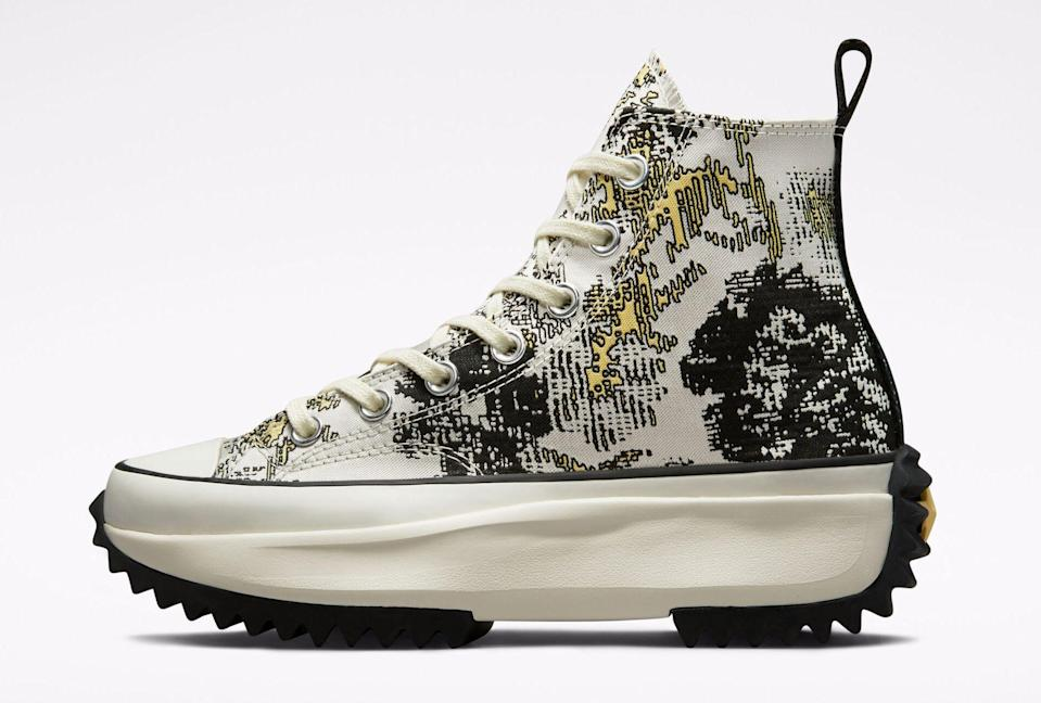 """The Converse Run Star Hike """"Hybrid Floral."""" - Credit: Courtesy of Converse"""