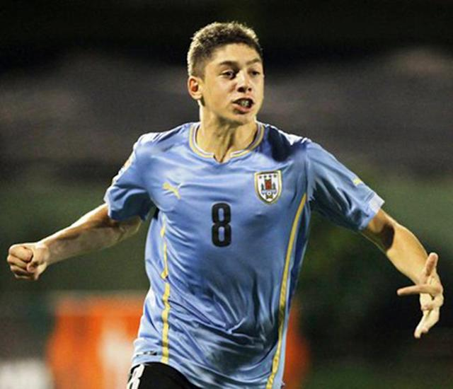 <p>Yet another 18-year-old Uruguay midfielder who is expected to impress after having joined Real Madrid Castilla last summer from Penarol. He has scored three goals in 26 games for Madrid B team. </p>