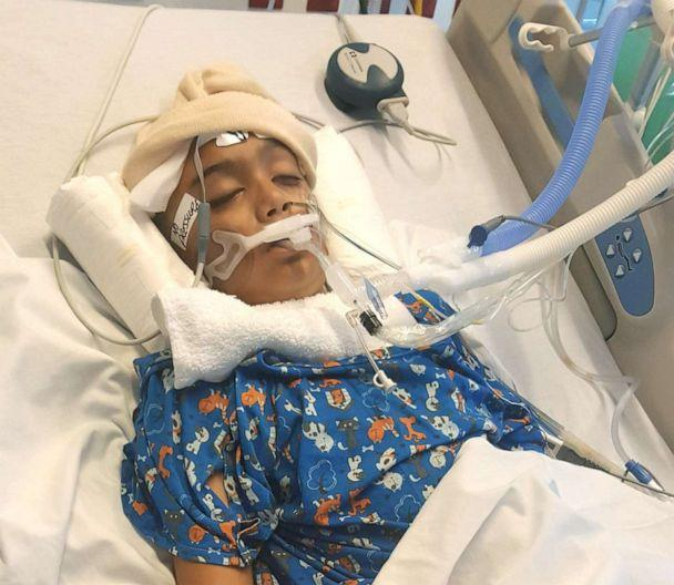 PHOTO: Neal Christie was kept in a coma for 10 days and spent more than two months recovering at a Florida hospital. (Courtesy Twinkal Christie)