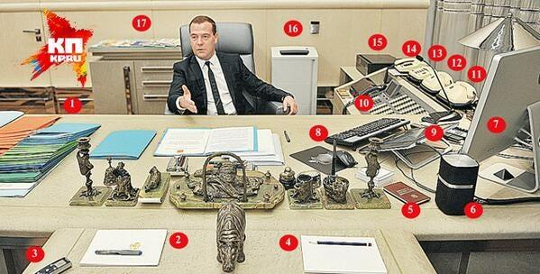 entire office decked. Entire Office Decked. Dmitry Medvedev In His Office. Decked
