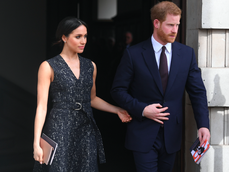 Meghan Markle and Prince Harry have asked for respect to be shown for her father Thomas (Picture: PA)