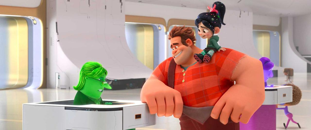 """<p>The much-hyped Disney princesses is truly brilliant, but <em><a rel=""""nofollow"""" href=""""https://www.digitalspy.com/movies/wreck-it-ralph/review/a871136/wreck-it-ralph-2-review-ralph-breaks-the-internet/"""">Ralph Breaks the Internet</a></em> takes aim at all sections of the web and succeeds in being a fun, touching and pertinent animation for fans of the original and newcomers alike. </p>"""