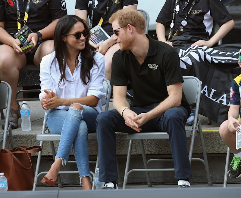 Prince Harry and Meghan Markle wedding date announced as May 19, 2018. File Photo by: KGC-22/STAR MAX/IPx20179/25/17 Prince Harry and Meghan Markle are seen at The Invictus Games in Toronto, Ontario, Canada.
