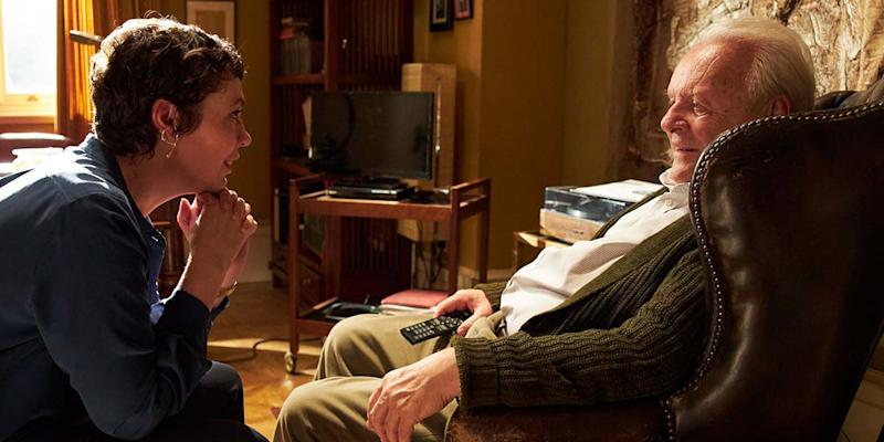 Olivia Colman and Anthony Hopkins in 'The Father' (Sony Pictures Classics)
