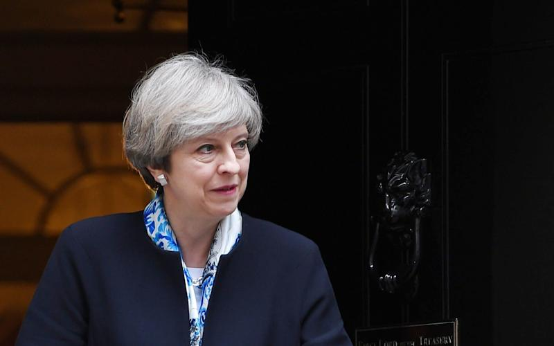 Only a handful of the Prime Minister's closest advisers knew of her plans to call a snap election - EPA