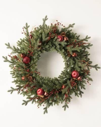 "<p><strong>Write a Review</strong></p><p>balsamhill.com</p><p><strong>$119.00</strong></p><p><a href=""https://www.balsamhill.com/p/heritage-spice-artificial-christmas-wreath-garland-foliage?sku=5024117"" rel=""nofollow noopener"" target=""_blank"" data-ylk=""slk:Shop Now"" class=""link rapid-noclick-resp"">Shop Now</a></p><p>Get the flavors of the season with this Christmas wreath decked out in an assortment of apples, berries, and cinnamon sticks.</p>"