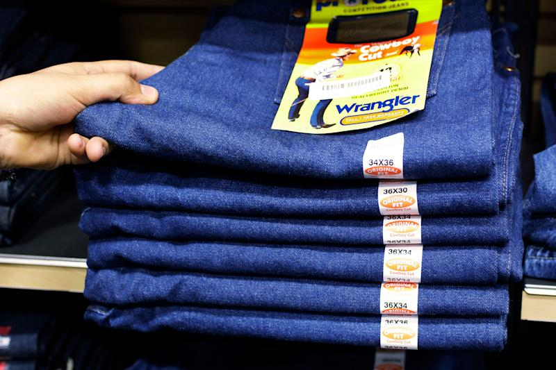 Owner of Wrangler and Lee jeans considering selling the brands