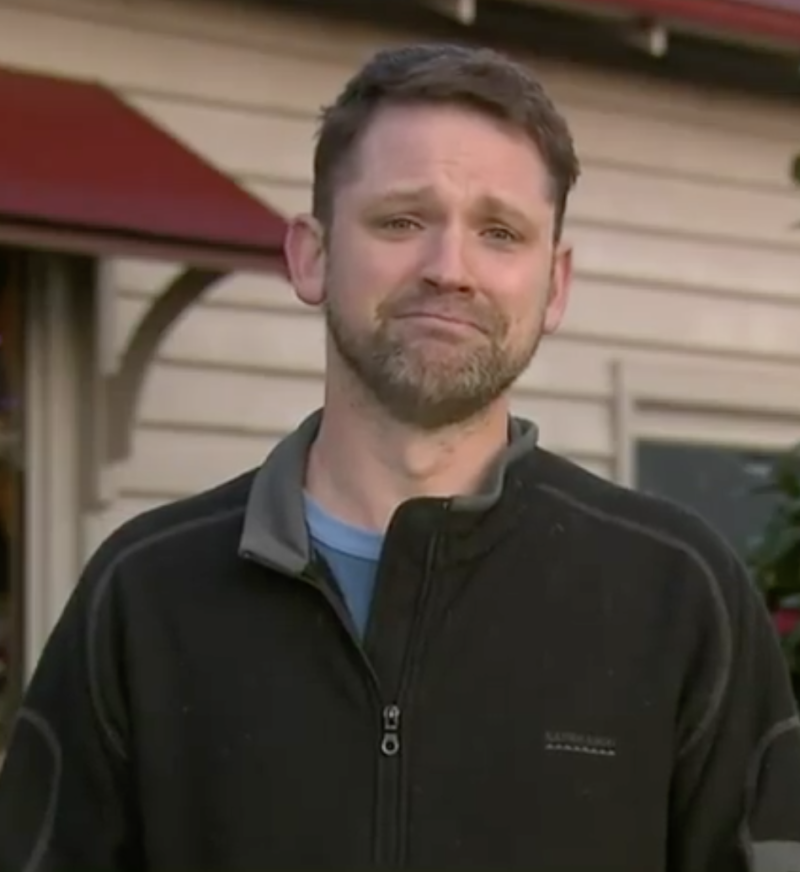 William Callaghan's stepdad Nathan Ezard told the program it was one of the family's biggest fears that Will would go missing. Source: Nine/The Today Show