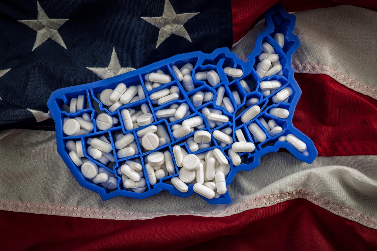 America's opioid epidemic contributed to another drop in U.S. life expectancy. (Photo: Getty Images Creative)