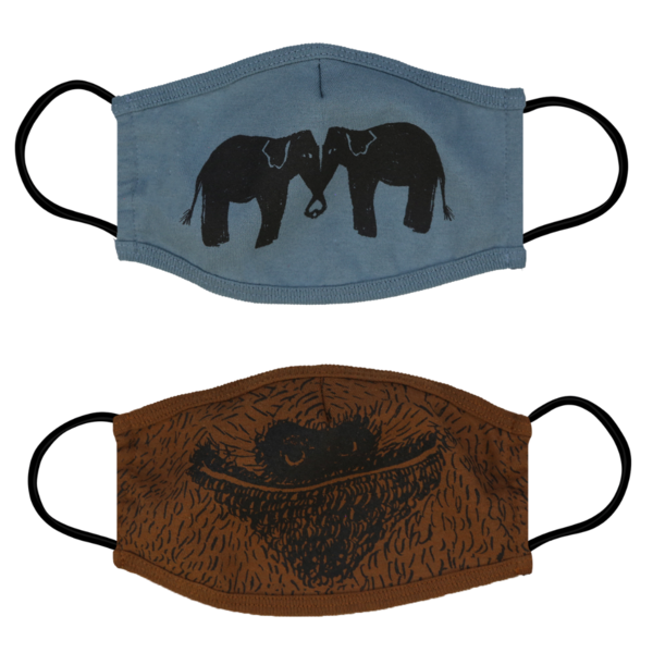 """<h3><a href=""""https://fave.co/3gI5Gep"""" rel=""""nofollow noopener"""" target=""""_blank"""" data-ylk=""""slk:Animalia Elephant & Sloth Face Masks - 2 Pack"""" class=""""link rapid-noclick-resp"""">Animalia Elephant & Sloth Face Masks - 2 Pack</a></h3><br>These masks do so much more than protect you and your community from the spread of COVID-19. They're ethically made in Los Angeles with mother Earth in mind, fashioned out of 50% Recycled Cotton and 50% Recycled Polyester. What's more: This small non-profit is sharing the proceeds of their mask sales with <a href=""""https://www.laoelephantinitiative.org/"""" rel=""""nofollow noopener"""" target=""""_blank"""" data-ylk=""""slk:The Lao Elephant Initiative"""" class=""""link rapid-noclick-resp"""">The Lao Elephant Initiative</a> and <a href=""""https://slothconservation.com/"""" rel=""""nofollow noopener"""" target=""""_blank"""" data-ylk=""""slk:The Sloth Conservation in Costa Rica"""" class=""""link rapid-noclick-resp"""">The Sloth Conservation in Costa Rica</a>.<br><br><br><br><strong>Animalia</strong> Elephant & Sloth Face Masks - 2 Pack, $, available at <a href=""""https://go.skimresources.com/?id=30283X879131&url=https%3A%2F%2Ffave.co%2F3gI5Gep"""" rel=""""nofollow noopener"""" target=""""_blank"""" data-ylk=""""slk:Animalia"""" class=""""link rapid-noclick-resp"""">Animalia</a>"""