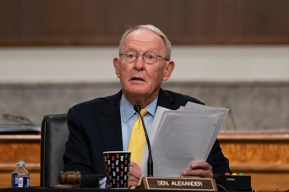 <p>Republican Senator Lamar Alexander has called on the Trump administration to assist in the transition to a Biden administration</p> (Getty Images)