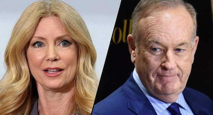 Former Fox News contributor Wendy Walsh and former Fox News anchor Bill O'Reilly.