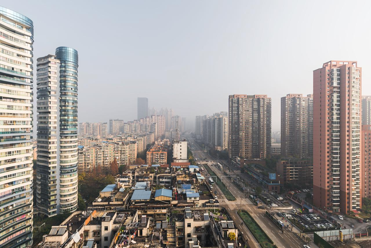 Wuhan Cityscape during the Day Time