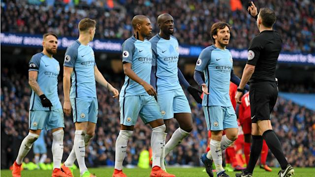 Manchester City will pay a £35,000 fine to the Football Association after accepting a charge of failing to control their players.