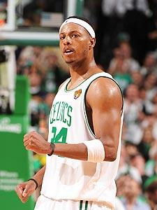 Pierce spurs title talk with big game