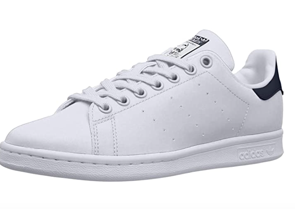 "<h2>Up To 35% Off Adidas<br></h2><br>Discount is applicable to select <a href=""https://amzn.to/33R6OYQ"" rel=""nofollow noopener"" target=""_blank"" data-ylk=""slk:Adidas"" class=""link rapid-noclick-resp"">Adidas</a> clothing, footwear and accessories.<br> <br><br><strong>Adidas</strong> Stan Smith Sneaker, $, available at <a href=""https://amzn.to/315I9hI"" rel=""nofollow noopener"" target=""_blank"" data-ylk=""slk:Amazon Fashion"" class=""link rapid-noclick-resp"">Amazon Fashion</a>"
