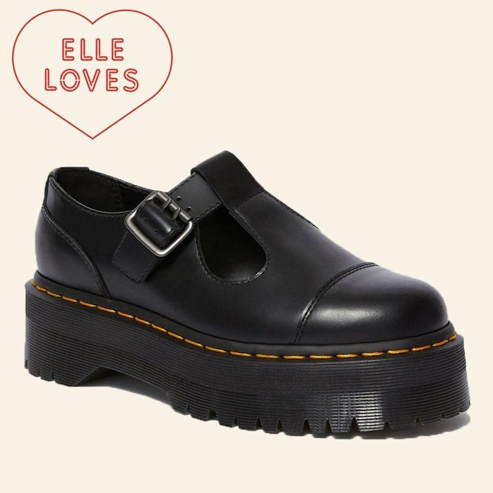 """<p>drmartens.com</p><p><strong>$150.00</strong></p><p><a href=""""https://go.redirectingat.com?id=74968X1596630&url=https%3A%2F%2Fwww.drmartens.com%2Fus%2Fen%2Fp%2F15727001&sref=https%3A%2F%2Fwww.elle.com%2Ffashion%2Fshopping%2Fg33078428%2Fbest-elle-editor-product-reviews%2F"""" rel=""""nofollow noopener"""" target=""""_blank"""" data-ylk=""""slk:Shop Now"""" class=""""link rapid-noclick-resp"""">Shop Now</a></p><p>""""Everyone wore a pair of lug-sole boots this past winter, but heavy footwear and warmer weather results in sweaty toes. Fortunately, <a href=""""https://www.elle.com/fashion/shopping/a31917080/dr-martens-platform-mary-jane/"""" rel=""""nofollow noopener"""" target=""""_blank"""" data-ylk=""""slk:Dr. Martens strappy Mary Janes"""" class=""""link rapid-noclick-resp"""">Dr. Martens strappy Mary Janes</a> allow you to continue wearing chunky soles throughout summer. Dubbed the Bethan, it is a riff on their classic Mary Jane, except this silhouette sits atop a thick, 1.5"""" platform."""" — <em>Justine Carreon, market editor</em></p>"""