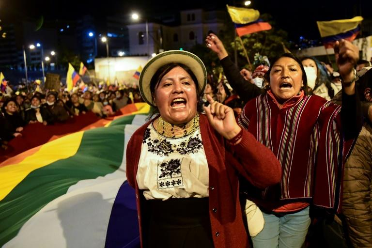 Indigenous protests over fuel price hikes forced the Ecuador government to modify its economic reforms, which had been required to secure aid from the International Monetary Fund