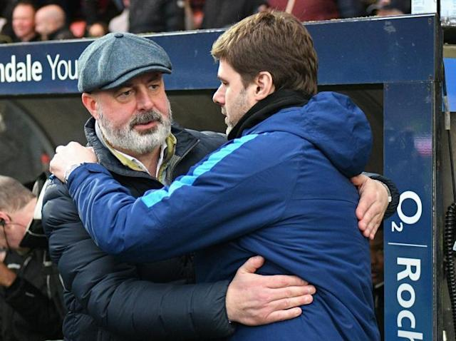 Mauricio Pochettino laughs off memories of Wembley hoodoo before Rochdale's visit in FA Cup fifth-round replay