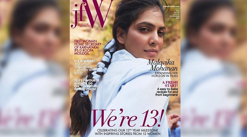 Malavika Mohanan Is the Sizzling and Sensational Cover Girl for JFW Magazine This Month!