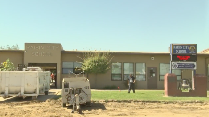 A superintendent of a California school is standing by his decision to allow a janitor to wear a mask and carry a fake gun during active shooter drill before the summer break. (Photo: CBS47)