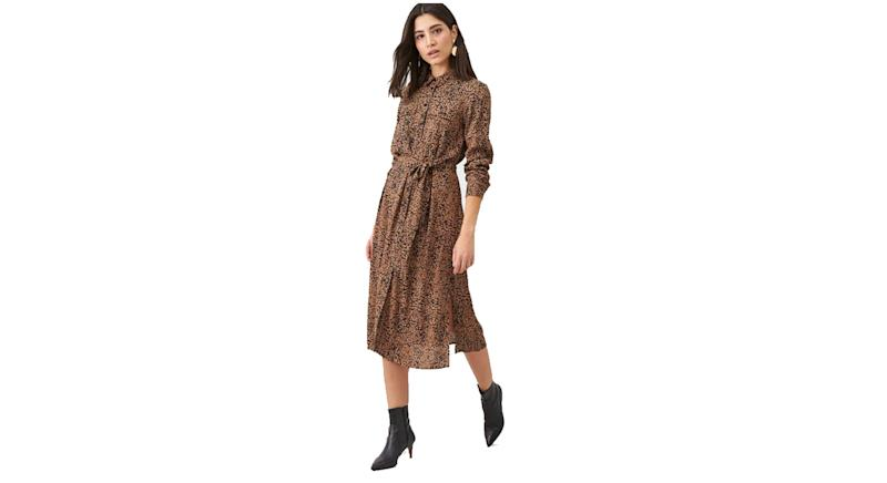 Warehouse Ink Spot Shirt Dress