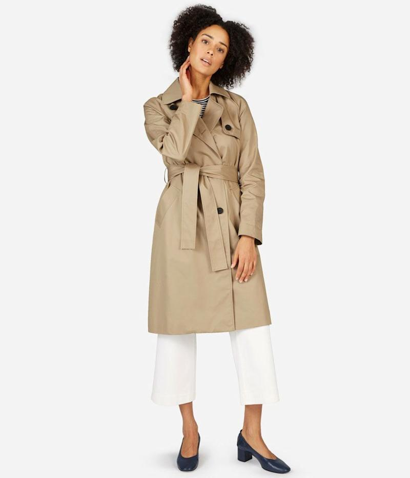 Everlane Drape Trench Coat (Photo: Everlane)