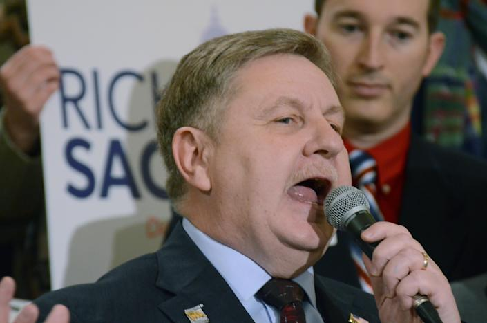 State Rep. Rick Saccone, the Republican candidate for the March 13 election. (Photo: Marc Levy/AP)