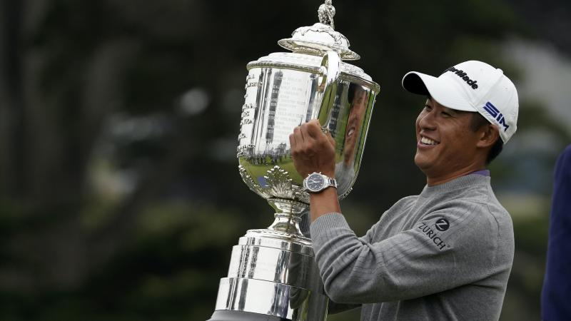 US PGA Championship: Collin Morikawa on 'cloud nine' after first major victory