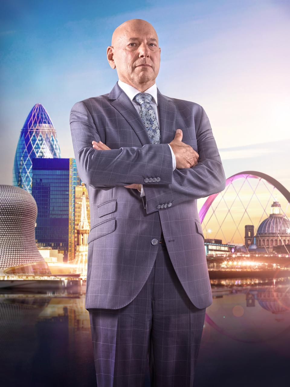 Claude Littner will be absent from the next series of The Apprentice. (BBC/Boundless Taylor Herring/Jim Marks)