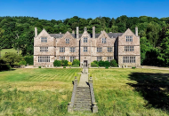 """<p>This Grade I listed building is set in 10 acres of beautiful land. Spread across three floors, it has 10 grand <a href=""""https://www.housebeautiful.com/uk/decorate/bedroom/a28889187/how-to-sleep-bedroom/"""" rel=""""nofollow noopener"""" target=""""_blank"""" data-ylk=""""slk:bedrooms"""" class=""""link rapid-noclick-resp"""">bedrooms</a>, an outdoor swimming pool, stone fireplaces and remarkably cosy interiors. Formally known as Canonteign Manor, the property was once guarded for the King during the Civil War and taken by Fairfax in 1645. It's perfect if you're after something packed with history. </p><p><a href=""""https://www.rightmove.co.uk/property-for-sale/property-68107207.html"""" rel=""""nofollow noopener"""" target=""""_blank"""" data-ylk=""""slk:Canonteign Manor is on the market for £3,950,000 via Fine & Country at Rightmove"""" class=""""link rapid-noclick-resp"""">Canonteign Manor is on the market for £3,950,000 via Fine & Country at Rightmove</a>. </p>"""