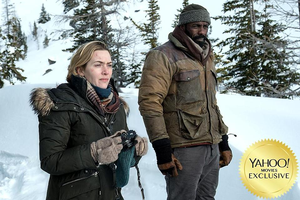 "<p><a href=""https://www.yahoo.com/movies/tagged/kate-winslet"" data-ylk=""slk:Kate Winslet"" class=""link rapid-noclick-resp"">Kate Winslet</a> and <a href=""https://www.yahoo.com/movies/tagged/idris-elba"" data-ylk=""slk:Idris Elba"" class=""link rapid-noclick-resp"">Idris Elba</a> are strangers who share a private plane together after their flight is canceled — only to crash and find themselves in a desperate bid to survive the frigid, high-altitude elements together. 