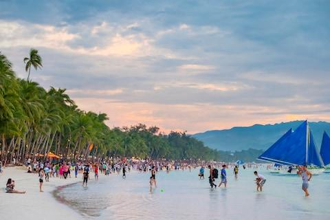 Boracay is feeling the strain - Credit: GETTY