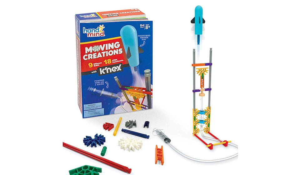 Kids can turn daydreams into experiments with this new take on the classic building toy (Photo: Amazon)