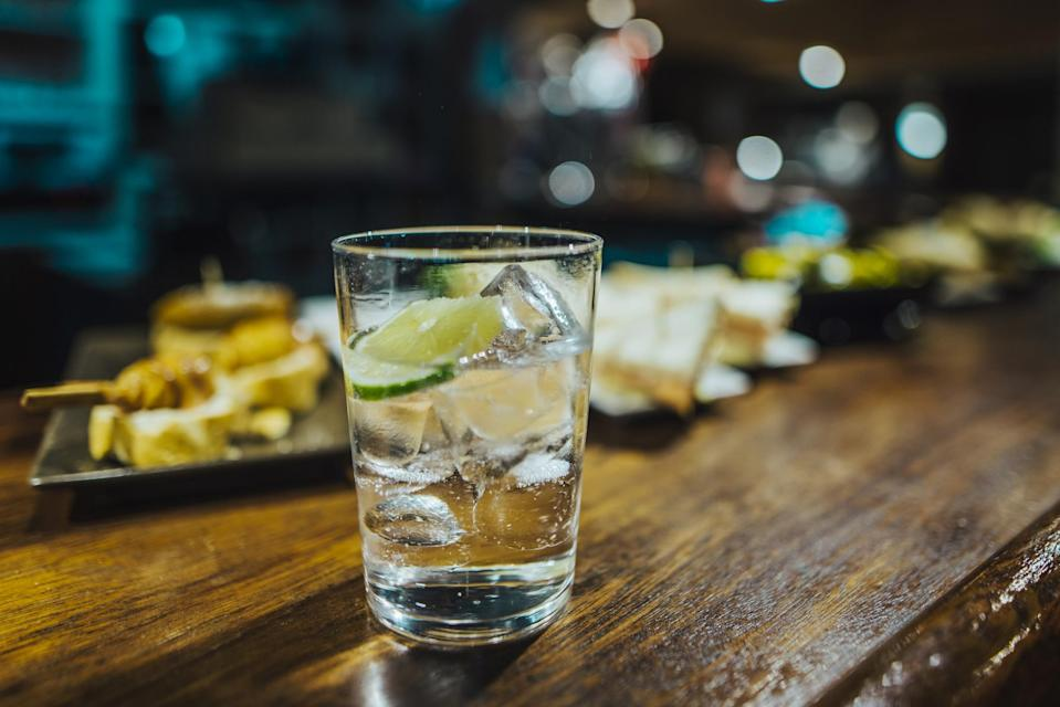 <p>We all know how awful a UTI can be. Gin can actually solve the painful problem. Juniper is a diuretic meaning it increases urine output, flushing out harmful toxins and bacteria.<br><i>[Photo: Getty]</i> </p>