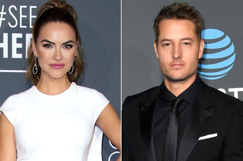 Chrishell Stause and Justin Hartley | Matt Baron/Shutterstock; Frazer Harrison/Getty Images
