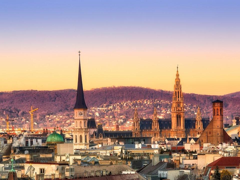 Austria goes green (Getty Images/iStockphoto)
