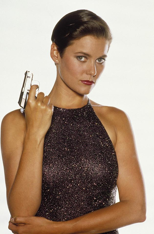 "PAM BOUVIER   MOVIE: <a href=""http://movies.yahoo.com/movie/1800088544/info"">License to Kill</a>  ACTRESS: <a href=""http://movies.yahoo.com/movie/contributor/1800053391"">Carey Lowell</a>  ALLEGIANCE: CIA informant  LAST SEEN: Making out with Bond in a pool.  SPECIAL SKILLS: Former pilot, good marksmanship skills, looks great in evening wear."