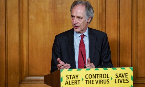 UK contact tracers not fully occupied, says coronavirus testing chief