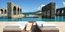 """<p><a rel=""""nofollow noopener"""" href=""""https://www.bestproducts.com/fun-things-to-do/g3204/up-and-coming-travel-destinations/"""" target=""""_blank"""" data-ylk=""""slk:St. Kitts"""" class=""""link rapid-noclick-resp"""">St. Kitts</a>, one of the Caribbean's lesser-known islands, is ready for its close-up. New resorts, such as the <a rel=""""nofollow noopener"""" href=""""https://www.hotels.com/ho505256992/"""" target=""""_blank"""" data-ylk=""""slk:Park Hyatt St. Kitts"""" class=""""link rapid-noclick-resp"""">Park Hyatt St. Kitts</a>, have opened with others in the pipeline. You can also visit Brimstone Hill Fortress, take a ride on the 18-mile-long <a rel=""""nofollow noopener"""" href=""""https://www.tripadvisor.com/Attraction_Review-g147374-d577699-Reviews-St_Kitts_Scenic_Railway-St_Kitts_St_Kitts_and_Nevis.html"""" target=""""_blank"""" data-ylk=""""slk:Scenic Railway"""" class=""""link rapid-noclick-resp"""">Scenic Railway</a> tourist train, and sip rum punches beside a bonfire at one the casual beach bars on the Strip in Frigate Bay, which also has live music and DJs. </p>"""