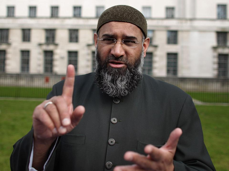 Hate preacher Anjem Choudary was one of the first influential extremists moved to the HMP Frankland separation centreGetty