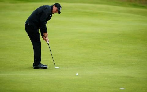 Phil Mickelson at Royal Portrush - Credit: Reuters