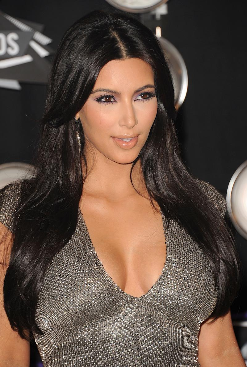 LOS ANGELES, CA - AUGUST 28: TV Personality Kim Kardashian arrives at the 2011 MTV Video Music Awards at Nokia Theatre L.A. LIVE on August 28, 2011 in Los Angeles, California. (Photo by Jason Merritt/Getty Images)