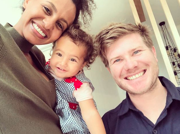 The couple welcomed their first child together, a daughter they named Harper-Rose in November 2016. Source: Instagram / zoehendrix
