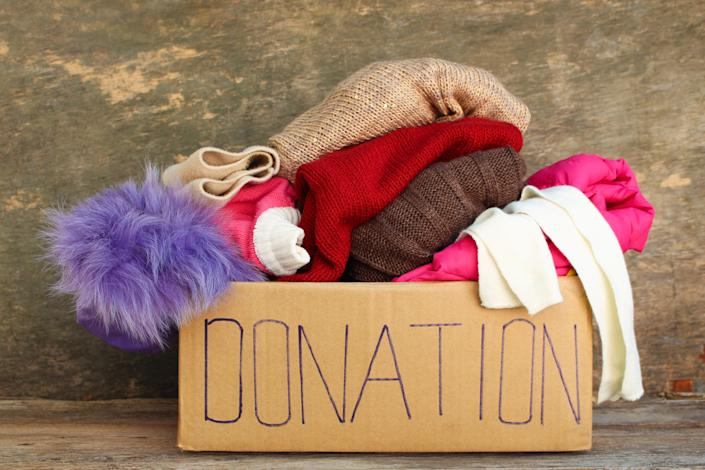 If something doesn't sell outright,contribute it to charity. Even if itemizing your charitable donations no longer makes financial sense under the new tax law, you've done a good thing. Toss the item as a last resort andstop paying for storage.
