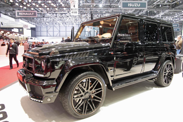 <strong>Brabus G800:</strong>The G-Class is mad. The G65 AMG is totally bonkers. And there isn't a word to describe the insanity that is the Brabus G800. Take a standard G-Class, bin whatever engine it started with and replace with a twin-turbocharged V12 producing 800hp – yes you read that right. (PA)