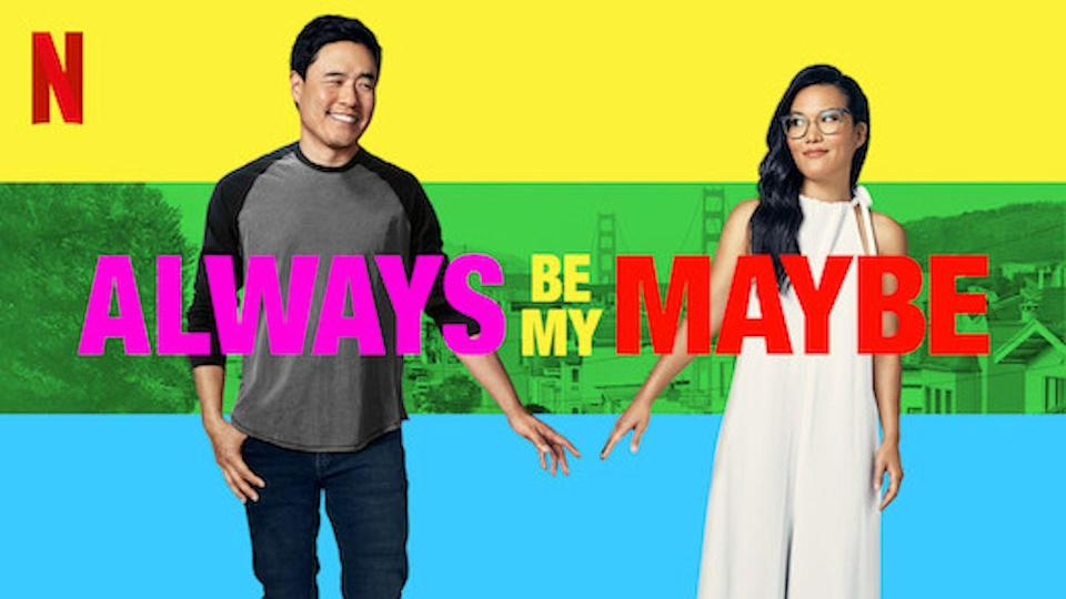 """<p>Another Netlfix original romantic comedy, <em>Always Be My Maybe</em> is a story of what happens when two childhood sweethearts meet as adults. Plus, there is a truly hilarious cameo by Keanu Reeves that is not worth missing.</p><p><a class=""""link rapid-noclick-resp"""" href=""""https://www.netflix.com/watch/80202874?trackId=255002876&tctx=6%2C16%2C72120aa6-5553-4e6a-a0e4-39fd32bf4793-13315773%2Ca8ed29ec-b206-4148-ba3b-7cbf385ff09e_12148812X96XX1607718788637%2Ca8ed29ec-b206-4148-ba3b-7cbf385ff09e_ROOT%2C"""" rel=""""nofollow noopener"""" target=""""_blank"""" data-ylk=""""slk:STREAM NOW"""">STREAM NOW</a></p>"""
